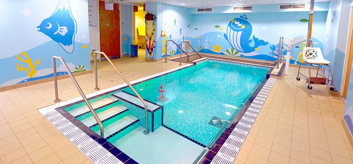 Hydrotherapy Pool - Sheffield Children's NHS Foundation Trust